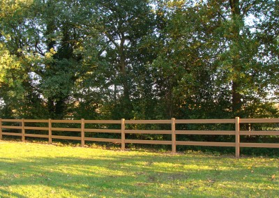 Artwood fence